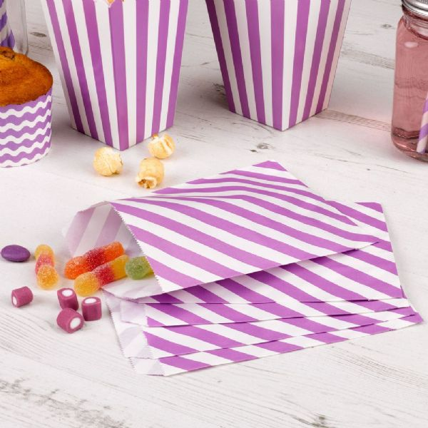 Carnival Purple Sweet Bags (25)